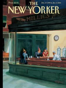 The New Yorker Cover - December 27, 1999 by Owen Smith