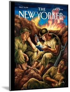 The New Yorker Cover - June 12, 2006 by Owen Smith