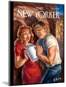 The New Yorker Cover - June 18, 2012 by Owen Smith