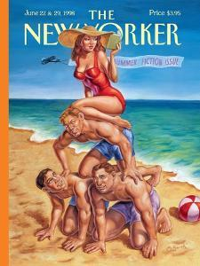The New Yorker Cover - June 22, 1998 by Owen Smith