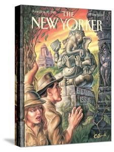 The New Yorker Cover - June 23, 1997 by Owen Smith