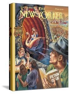 The New Yorker Cover - June 24, 1996 by Owen Smith