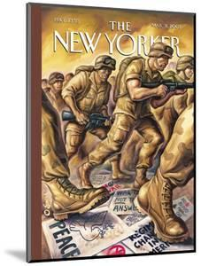 The New Yorker Cover - March 31, 2003 by Owen Smith
