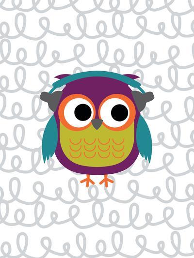 Owl 2-Tamara Robinson-Art Print