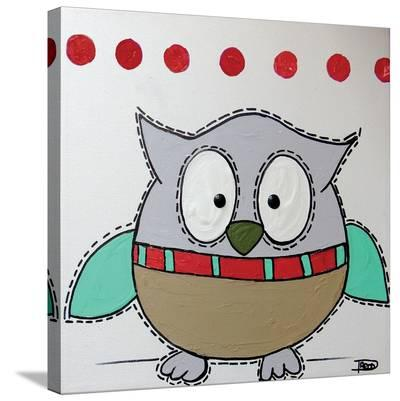 Owl 3-Annie Rodrigue-Stretched Canvas Print