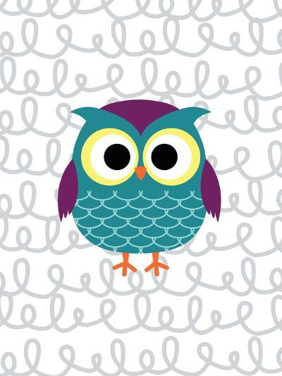 Owl 3-Tamara Robinson-Art Print