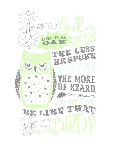 Owl-5-Jilly Jack Designs-Art Print
