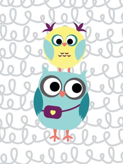 Owl 5-Tamara Robinson-Art Print