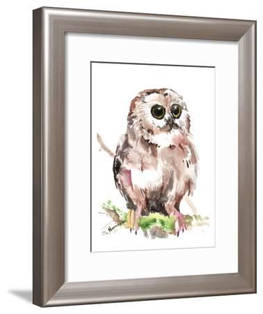Owl 6-Suren Nersisyan-Framed Art Print