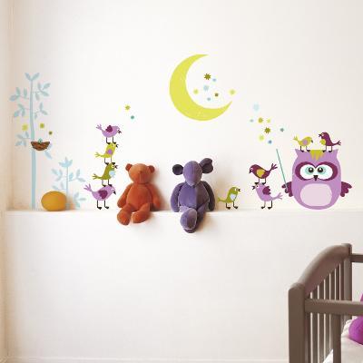 Owl & Company--Wall Decal