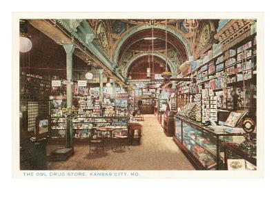 Owl Drug Store, Kansas City, Missouri--Art Print