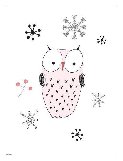 Owl III-GraphINC-Art Print