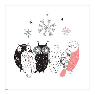 Owl IV-GraphINC-Art Print