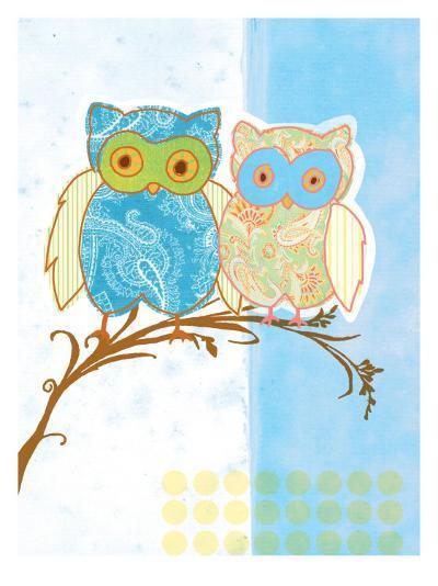 Owl Love-Bessie Pease Gutmann-Giclee Print