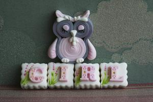 Owl Quilled Girl
