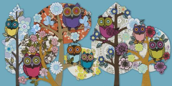 Owl Stock-Helen Musselwhite-Giclee Print