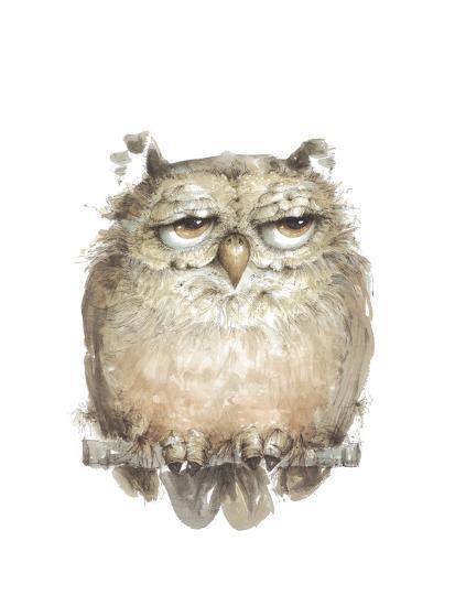 Owl VII-Judy Rossouw-Giclee Print