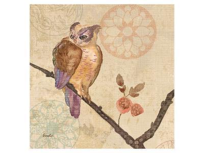 Owl Violet--Art Print