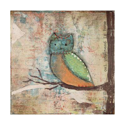 Owl You Need-Cassandra Cushman-Art Print