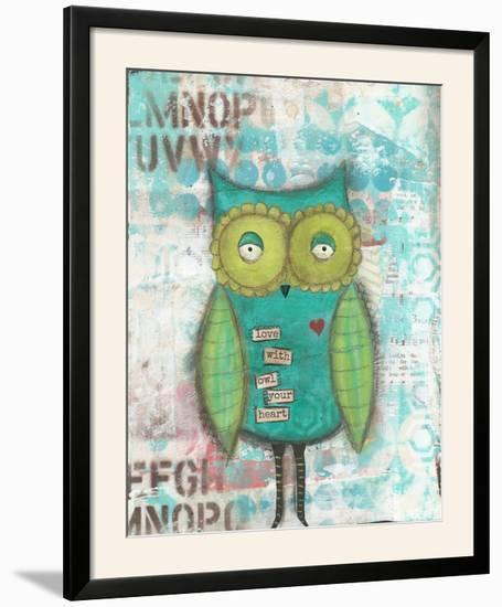 Owl Your Heart-Cassandra Cushman-Framed Photographic Print