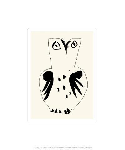 Owl-Pablo Picasso-Serigraph