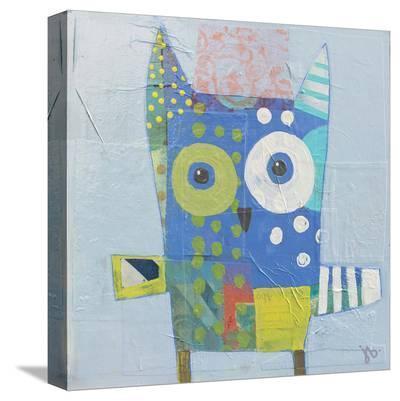 Owl-Julie Beyer-Stretched Canvas Print