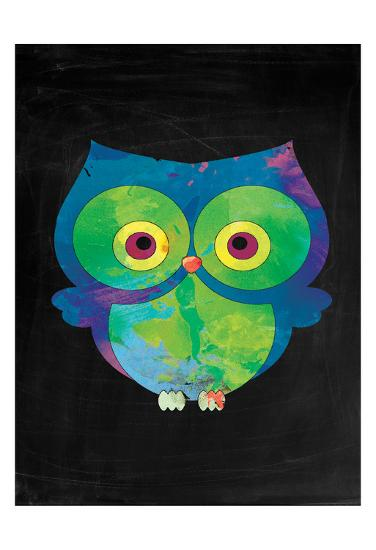 Owl-Victoria Brown-Art Print