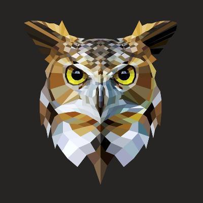 Owl-Lora Kroll-Art Print