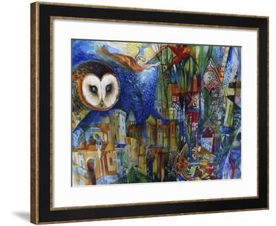 Owl-Oxana Zaika-Framed Giclee Print