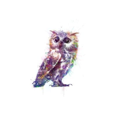 Owl-VeeBee-Art Print