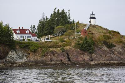 Owls Head Lighthouse, Rockland Harbor, Maine-George Oze-Photographic Print
