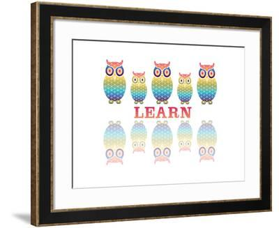 Owls-Mindy Howard-Framed Giclee Print