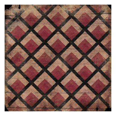 Ox Blood Pattern-Jace Grey-Art Print