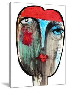 Fortune Teller, Gypsy Abstract by Oxana Mahnac