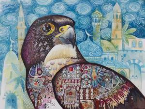 Falcon by Oxana Zaika