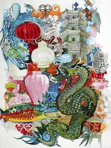 Folk Dragon by Oxana Zaika