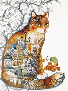 Saint Petersburg Cat by Oxana Zaika