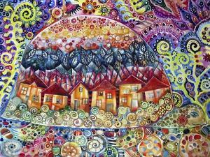 Turtle City by Oxana Zaika