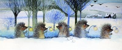 Winter Hedgehogs