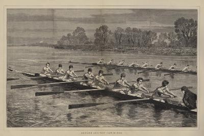 Oxford Against Cambridge-Sydney Prior Hall-Giclee Print