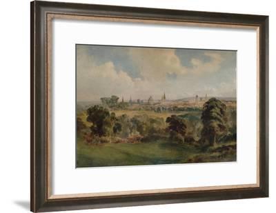 'Oxford', c1903, (1938)-Richard Henry Wright-Framed Giclee Print