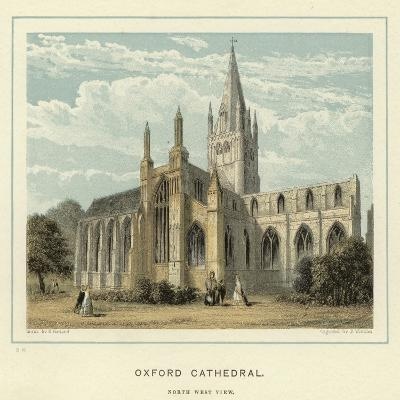Oxford Cathedral, North West View--Giclee Print