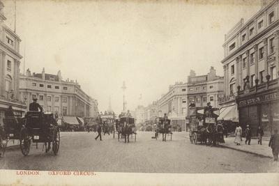 Oxford Circus, London--Photographic Print