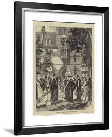 Oxford Commemoration, Show Sunday--Framed Giclee Print