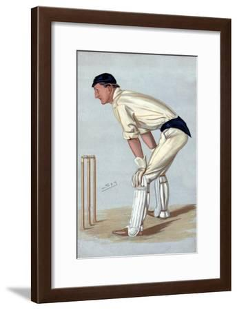 'Oxford Cricket', 1889-Sir Leslie Matthew Ward-Framed Giclee Print
