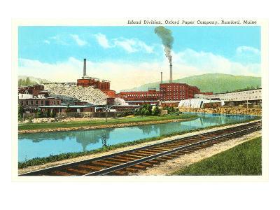 Oxford Paper Company, Rumford, Maine--Art Print