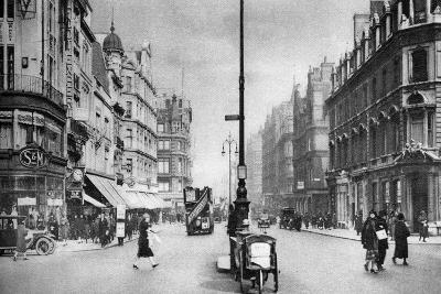 Oxford Street, London, 1926--Giclee Print