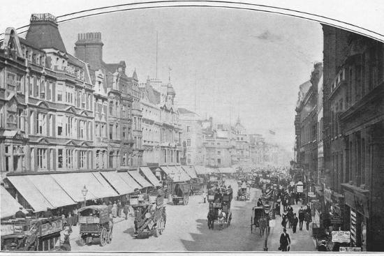 Oxford Street, London, c1900 (1901)-Unknown-Photographic Print