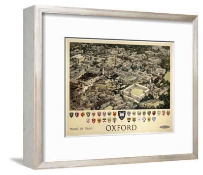 Oxford View from Air