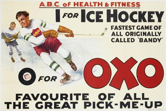 Oxo Poster--Giclee Print